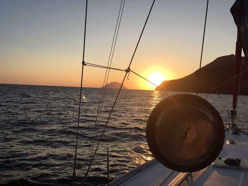 Vacanze in Barca a Vela Eolie